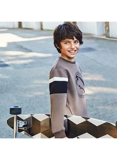 Mayoral Mayoral Erkek Çocuk SweaT-shirt Kahve